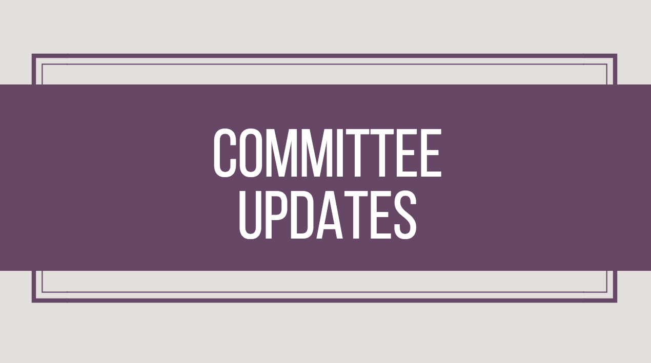 Committee Updates – January 2018
